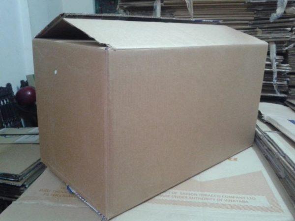Thùng Carton Cũ 3 lớp 70x45x45cm