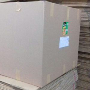 Thùng carton cũ 3 lớp, 76x50x65cm