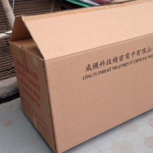 Thùng Carton Cũ 5 Lớp, 62x40x42cm