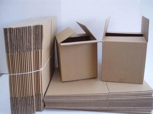 Thùng Carton Cũ 3 lớp 66x31x37cm