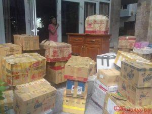 thùng carton cũ dọn nhà giá rẻ
